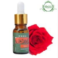 Cheap (Min Order 10$) Morocco Pure Rose Essential Oil Whitening Spots light hydrating moisturzing Women Skin Care Rose Damascena 10ML