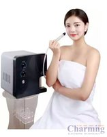 Cheap Korea small bubble omega equipment for face lifting deeply cleaning skin rejuvenation beauty machine