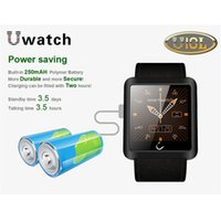 Wholesale U10 plus U10L Sport Bluetooth V4 U10S Smart Wrist Watch With Pedometer For IOS For Android Phones Waterproof Camera
