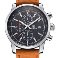 battery sport package - BENYAR Fashion Chronograph Sport Mens Watches Top Brand Luxury Quartz Watch Reloj Hombre Clock Male hour relogio Masculino With Package