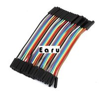Wholesale cm mm Pin Female to Female Connecting Jumper Wire Cable
