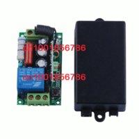 add switch - 220V CH RF wireless remote control system switch receiver remote control transmitter Latched add transmiter freely