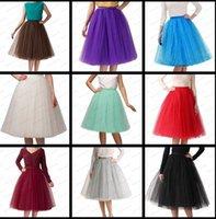 ballerina skirts fashion - Women Girls layer cm skirt length Tulle Skirt Skirts Adult Tutu Ball Gown ballerina skirt knee length fashion skirt