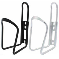 aluminum drink bottles - New Bike Bicycle Cycling Aluminum Alloy Rack Water Drink Bottle Can Holder Cage Bike Bottle Cages Holder Rack