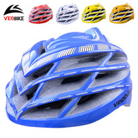 Wholesale 2016 new hotsale cycling helmet colors streamline mens womens unisex sports wear headpiece light biking head safe hat