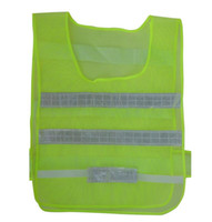 Wholesale Reflective Safety Clothing Worker Clean sanitation highway road traffic reflective warning vest high light reflective vests