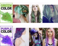 Wholesale 12 Colors Non toxic Temporary Pastel Hair Square Hair Dye Color Chalk hair color paint for hair giz pastel new
