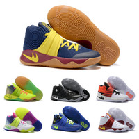 authentic boots - Drop Shipping Basketball Shoes Men Kyrie Sneakers Boots Authentic New Color Discount Sports Shoes Size