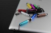 Wholesale Cheap Earphone Plugs - 2016 Cheap Pens High Quality 1000pcs Scalable Capacitive Touch Screen Pen Stylus Pen Earphone Dustproof Plug