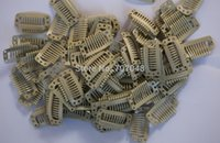 Wholesale pieces Beige color teeth Large Hair Clips Wigs Clip hair extension clips hair clips Beige color hair clps