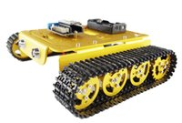 app development - New RC tank T200 wireless wifi control car diy rc toy NodeMCU development kit remote control by phone app l293d motor shield