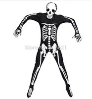 adult makeup games - 5pcs Adults Men Skull Skeletons Ghosts Wear Jumpsuits Bodysuits Halloween Carnival Roleplay Makeup Party Cosplay Costume