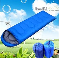 Wholesale The envelope sleeping bag outdoor camping trip spring and summer home drive their camping sleeping bag color