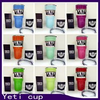cup - Hot yeti cup Powder Coated oz Yeti Rambler YETI Coolers Rambler Tumbler Stainless Steel Double Walled Travel Mug YETI cup