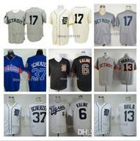 alex tiger - 2015 New Detroit Tigers Jersey Shirt Baseball Denny McClain Jerseys Al Kaline Alex Avila Max Scherzer Uniform