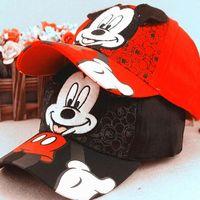 adjustable ear muffs - New Baby Boys Girls Snapback Hats Caps Kids Children Baseball Cap Adjustable Cartoon Character Pattern Hats