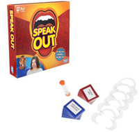 Wholesale Best selling board game speak out game interesting party game and family game christmas as gift of in stock
