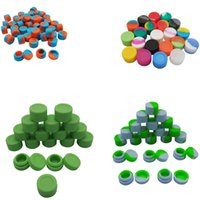 Wholesale New Slick Non stick Storage Silicone Container Bho Silicon Box Tub Jar Wax New Ml