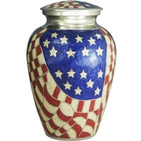 american funerals - Cremation Urn Funeral Urn urns for human ashes Display Urn at Home or in Niche at Columbarium American Hero ADULT URNS