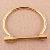 achat en gros de amour bracelet en gros vis-Bracelets en acier inoxydable Bracelet en acier inoxydable pour les femmes Bracelets Bracelets en gros B491