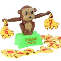 add match - Match game Children s educational toys Little monkey cartoon Numbers to add and subtract balance toys Puzzle fun
