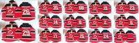 Wholesale Cheap NHL Men s New Jersey Devils Red Hoodies Ryane Clowe Patrik Elias Zajac Greene etc Hockey Jersey Stitched Sweatshirts