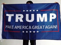 Wholesale Donald Trump Make America Great Again Flag D Polyester USA HORNOR FLAG CHRISTMAS DECOR THANKS GIVING DAY