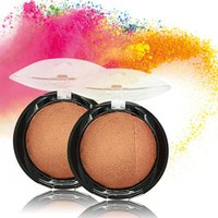 Wholesale Miss Rose Brand Beauty Face Blush Makeup Baked Cheek Color Bronzer Blusher Palette Highlight Cosmetic Shadow Professional make up New