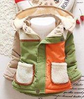 Wholesale children s clothing boys winter coat plus thick velvet padded Korean baby child children baby jacket SHBC