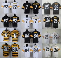 bell ships - Mens Elite Jerseys Antonio Brown Le Veon Bell Ben Roethlisberger Artie Burns James Harrison Stitched Jerseys