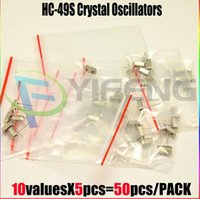 Wholesale Crystal Oscillators HC S Values each value Assortment Kit MHZ MHZ MHZ MHZ MHZ MHZ MHZ MHZ