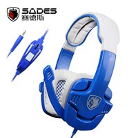 Wholesale Original Sades Gaming Headset for PS4 for Xbox One Video Game Headphone mm Stereo Gamer Earphone with Microphone
