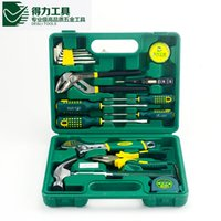 Wholesale Durable Quality DL1016G a set DELI Household multifuncional repair tool set Price