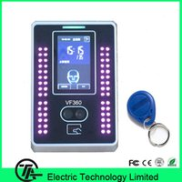 Wholesale VF360 biometric facial access control and time attendance inch touch screen face and RFID card time attendance