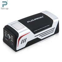 Wholesale FLOUREON Jump Starter A Peak mAh Emergency Battery Charger Power Bank for V V Truck Vehicles Mobile Phones with SOS