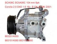 Wholesale Toyota Corolla air compressor scs06c SCSA06C DCP50011 A582 A580