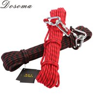 Wholesale 10m Diameter mm Auxiliary Rope KN Professional Climbing Safety RopeHigh Strength Nylon Camping DurableSurvival Paracord