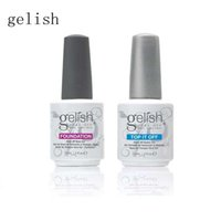 Gel Polish arts color names - The newest Harmony Gelish gel Polish Top it off and Foundation LED UV Gel nail polish Nail art lacquer Soak off color gel with english name