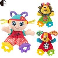 best educational toys for infants - 2015 Hot Sale Soft Teether Doll Infant Toys Educational Toys Plush Toy Best Gift For Children HT2203