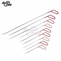 automotive body kits - Vehicle Tool PDR Kit High Quality Automotive Hand Tools PDR ROD Red Spring Steel Rod Auto Body Shop Auto Parts Dent Hail Dents Removal