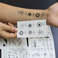 alternative body - 8pcs Cool Alternative Temporary Personality wrist ankle strip waterproof tattoo stickers for Body Art Makeup Tools Sexy temptation