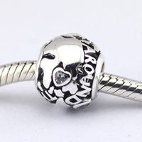 animals around the world - Fits Pandora Bracelet All Around The World Openwork Silver Charms with C Z Sterling Silver Jewelry DIY Beads