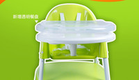 Wholesale Multifunctional baby chair split type dual purpose highchairs baby high chair BB foot dinner chair