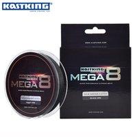 Wholesale KastKing Mega8 Super Strong M Strands Weaves PE Braided Fishing Line Rope Multifilament LB LB LB LB LB LB LB