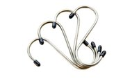 Wholesale 4PCS Stainless Steel S Hook Hanging Shape kg Capacity