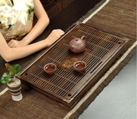 antique wood coffee tables - Tea Tray Chinese Kungfu Tea Board Storage type tea board small tea table