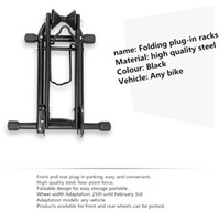 Wholesale Bicycle racks L type collapsible display Cycling repair tool MTB holder Outdoor bike support bracket foldable Accessories
