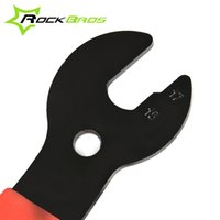 bicycle pedal removal - ROCKBROS Cycling Bike Bicycle Repair Tool In mm Bike Pedal Hub Wrench Spanner Foot Removal Tool Bicycle Accessories