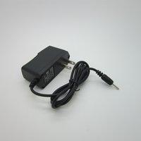 Wholesale 1PC Ac v dc v2a pin European power adapter V Auniversal power leds V2A DC2