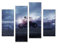 art drivers - LK4227 Panel Motorbike Racing Drivers Racing Wall Art Popular Pictures Print On Canvas Oil Paintings Sale For Home Bar Hub Kitchen Mode